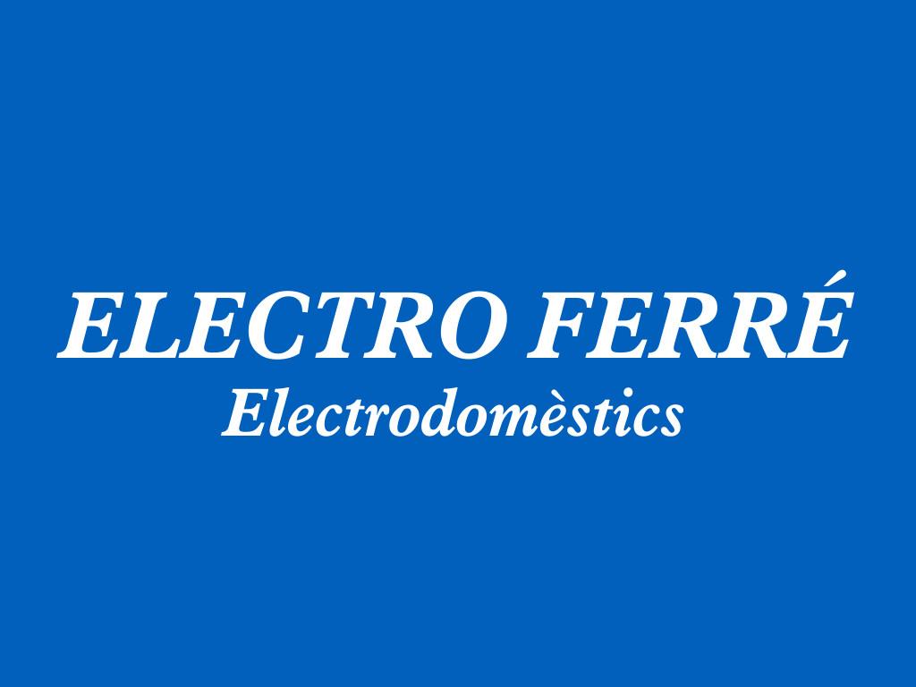 Logotip Electro Ferré Electrodomèstics