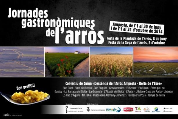Jornades Gastrònomiques Arròs Amposta Octubre 2014