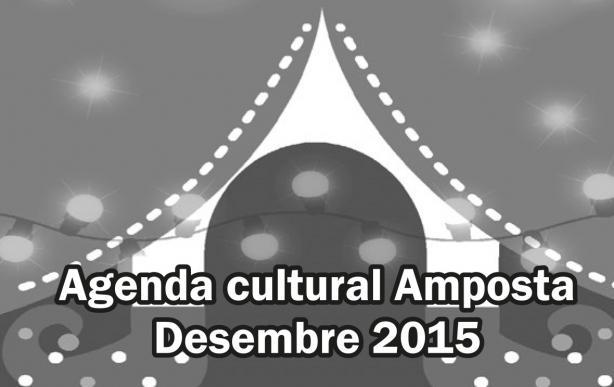 Agenda Cultural Amposta Desembre 2015