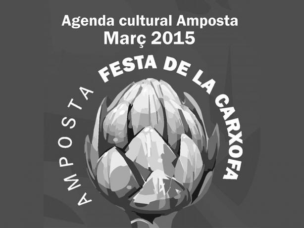Agenda Cultural Amposta Març 2015