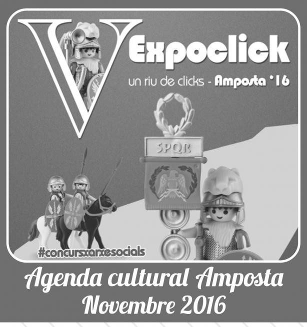 Agenda Cultural Novembre 2016