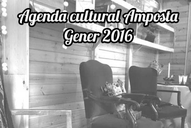 Agenda Cultural Gener 2016