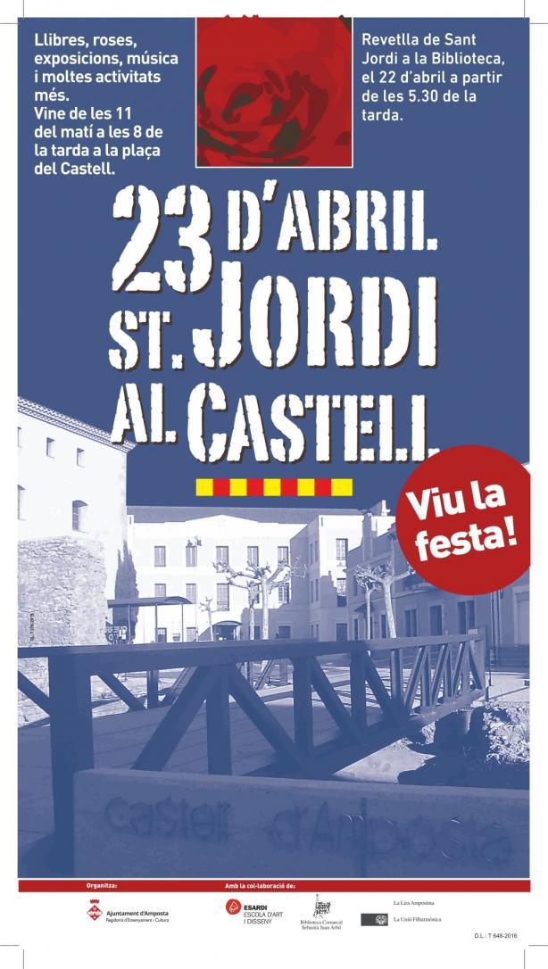 Diada Sant Jordi Amposta 2016