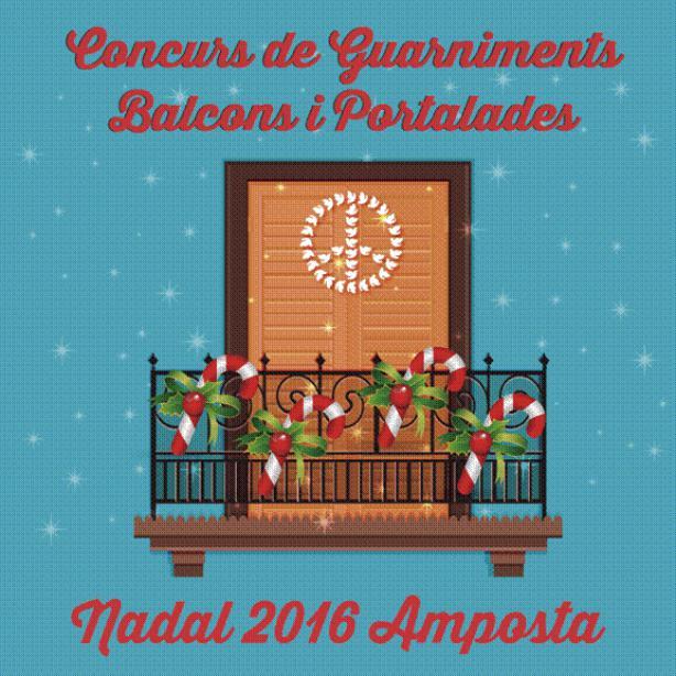 CONCURS DE GUARNIMENTS DE BALCONS I PORTALADES NADAL 2016