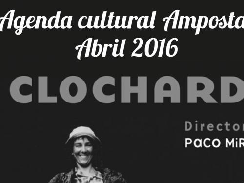 Agenda Cultural Abril 2016 Amposta