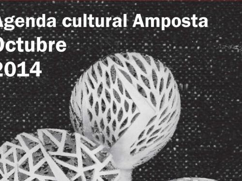Agenda Cultural Amposta Octubre 2014