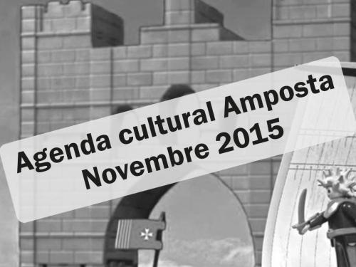 Agenda Cultural Amposta Novembre 2015