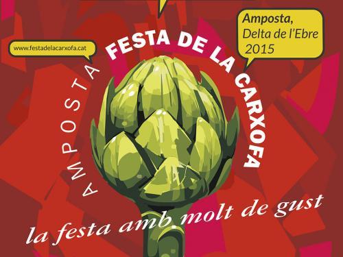 Cartell XX Festa de la Carxofa Amposta