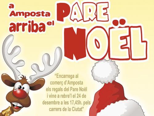 Arribada del Pare Noël: dimecres 24 de desembre de 2014